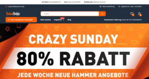 Baaboo.Shop mit Crazy Sunday Rabatt