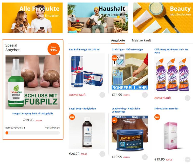 Baaboo.Shop mit Marken-Angeboten