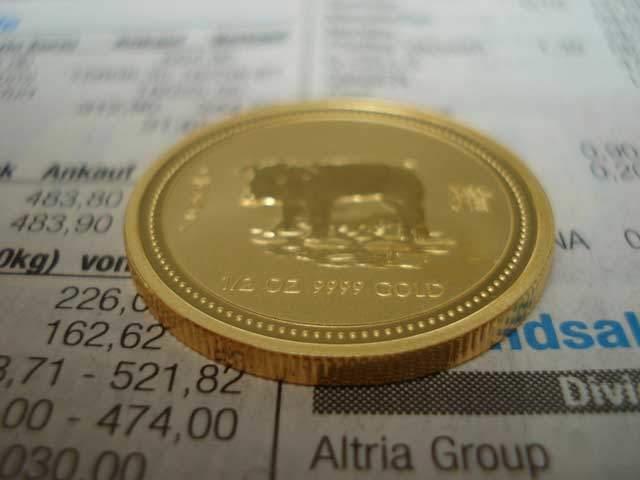 Goldmünzen Kurs