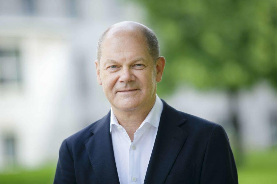 Kanzlerkandidat Olaf Scholz (SPD)