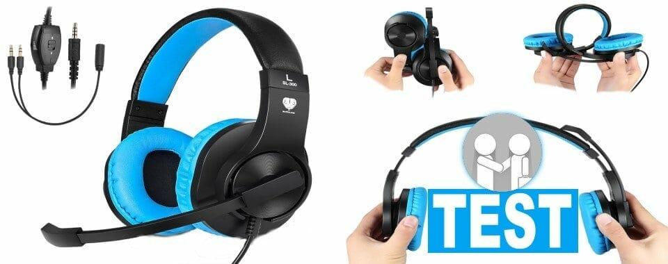 Produkttest: Gaming Headset SL-300 von Butfulake
