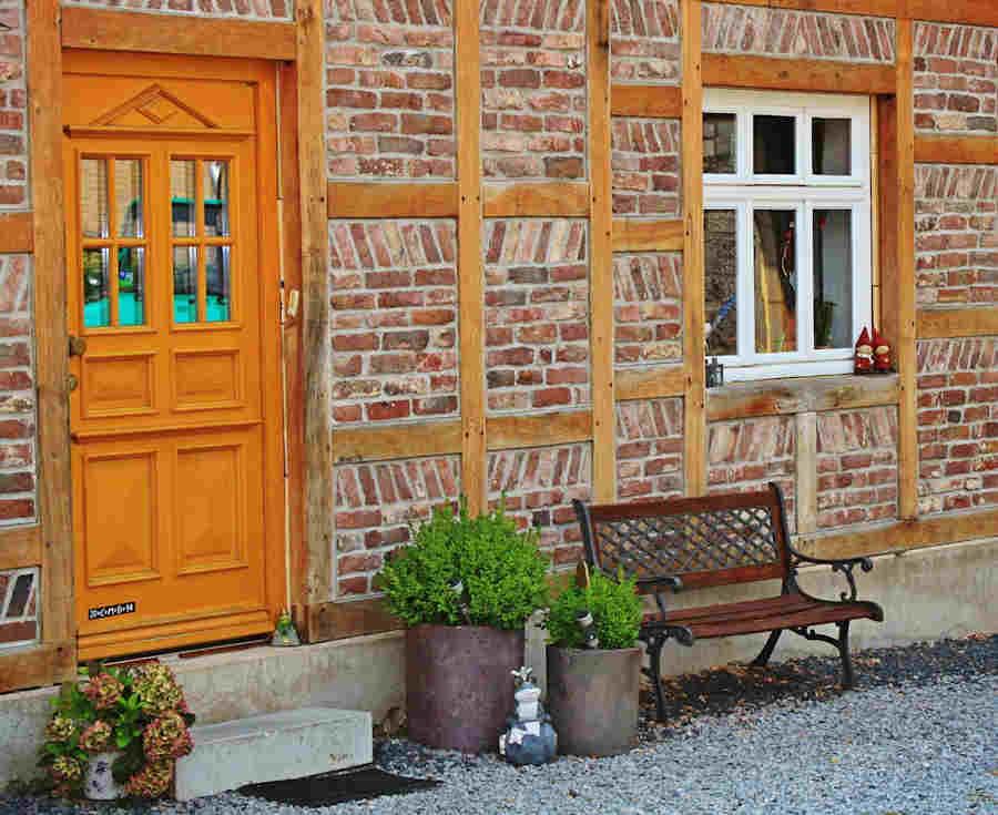 Wie verschönert man den Hauseingang?