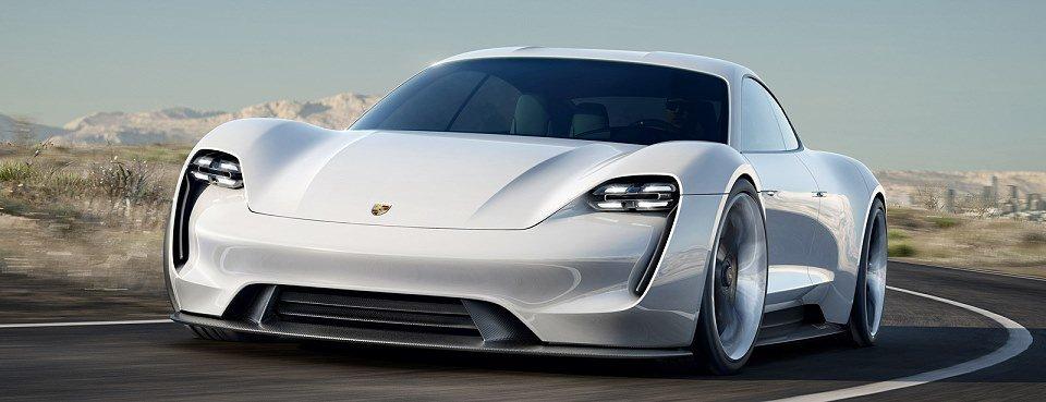 Mission E - ein echter Elektro-Sportwagen von Porsche