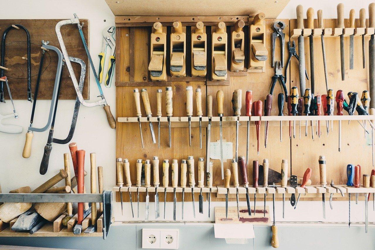 Werkstatteinrichtung für Einsteiger und Profis